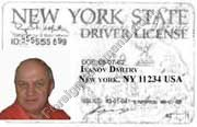 Translation of Driver Licenses issued in USA New York
