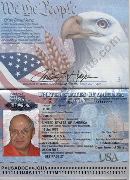 Translation of USA Passports into Russian and Ukrainian