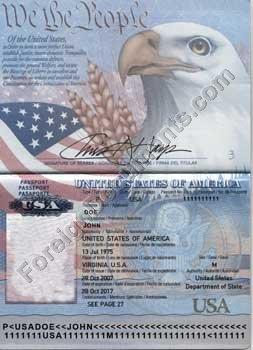 Usa Ukrainian Of Russian Passport Translation To